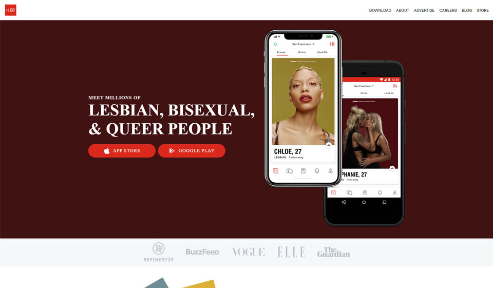 Her Review: Legit Sites with the Highest Ratings for Queer Women